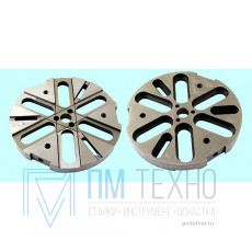 Диск  6-ти пазовый d 360 универсально-сборных круглых накладных кондукторов (7081-0501 ) ГОСТ15553-70 (восстановленный)