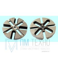Диск  4-х пазовый d 150 универсально-сборных круглых накладных кондукторов под паз 12мм (7081-0481) ГОСТ15553-70(восст.)