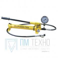Насос ручной гидравлический объем 700мл с манометром (HHB-700B)