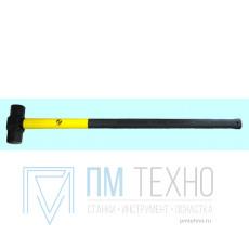 Кувалда    3,0 кг с фиберглассовой ручкой L=990мм кованная шестигранная