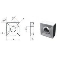 Пластина SNUM  - 120408-2  ВК8(В35) квадратная dвн=5мм (03114)  со стружколомом