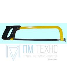 Рамка ножовочная с полотном 300мм, тип 1, исп.1, с пластик. ручкой (HL-207)