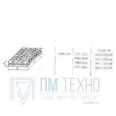 Плита Прямоугольная 180х120х30 с Т-образными пазами 8мм (7081-0341) ГОСТ14368-69 (восстановленная)