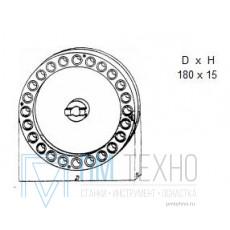 Диск Делительный d 180х 15 подвесной, число делений 24 под паз 8мм (УЗСП-48)