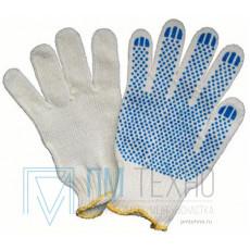 Перчатки трикотажные с ПВХ (точка 20 р-р)