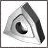 Пластина WNUM - 100408  МС 2215 трёхгранная ломаная(80°) dвн=6мм (02114) со стружколомом