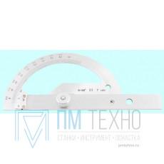 Угломер 0-180° тип4 4УМ с нониусом цена дел.10 мин. для измерения наружных углов (КрИн)