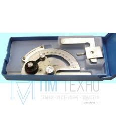 Угломер 0-180° тип1 5УМ с нониусом цена дел. 5 мин. для измерения наружных углов (КрИн)
