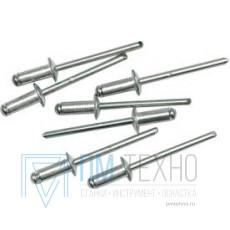 Заклепки 4,0 х10,0мм алюминиевые со стальным стержнем, в упаковке 50шт.